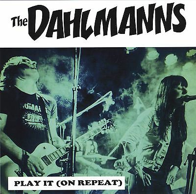 THE DAHLMANNS Play It On Repeat GREEN vinyl NEW power pop new wave 125-copies!