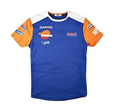 HONDA ARAGON T-SHIRT Gr. S GAS KOLLEKTION REPSOL HRC RACING SHIRT HEMD