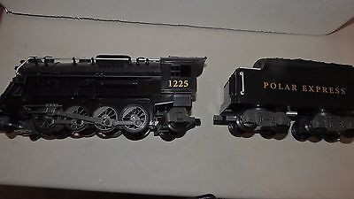 Lionel The Polar Express G Scale Train Engine Steam 1225 & Coal Tender 7-11022