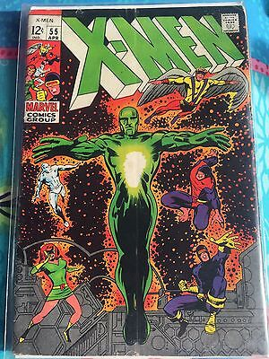 Marvel X-Men no 55 1969 first Appearance of Angel Very rare comic Silver Age