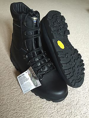 Altberg Defender Black Police Security Combat Boots Uk10M - Brand New BNIB BNWT