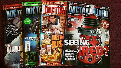Doctor Who Magazines x4 nos 431 428 426 & 425