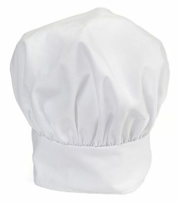 New In Package RITZ Pro Series White Chef's Hat * Adjustable * One Size Fits All