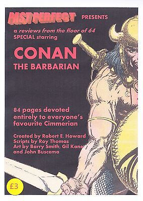 Past Perfect Special Conan The Barbarian Robert E Howard Barry Smith Buscema