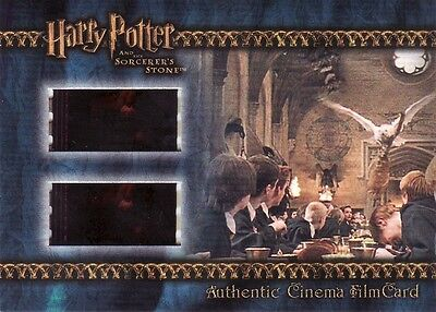 Harry Potter Sorcerers Sorcerer's Stone Filmcard Cell Hedwig delivers the Nimbus