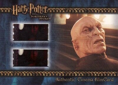 Harry Potter Sorcerers Sorcerer's Stone Filmcard Cell Lord Voldemort is Revealed