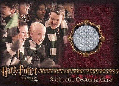 Harry Potter Sorcerers Sorcerer's Stone Draco Malfoy's Scarf Costume Card b