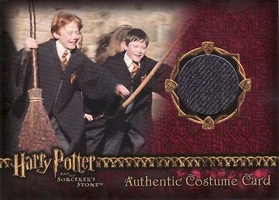 Harry Potter Sorcerers Sorcerer's Stone Male Students Costume Card