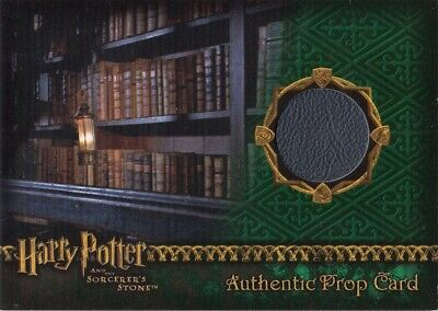 Harry Potter Sorcerers Sorcerer's Stone Restricted Library Book Prop Card