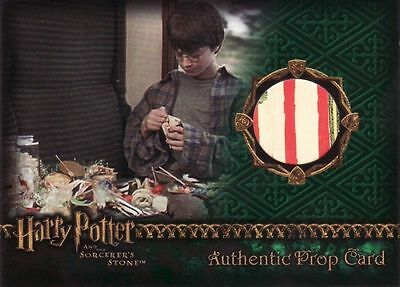 Harry Potter Sorcerers Sorcerer's Stone Wizard Candy Prop Card