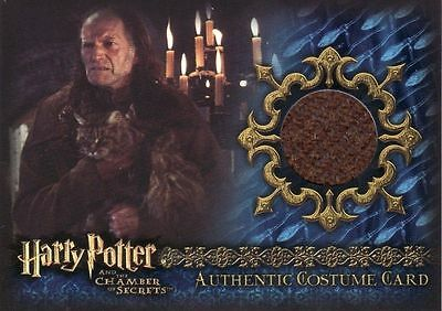 Harry Potter Chamber of Secrets CoS Argus Filtch C7 Costume Card
