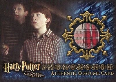 Harry Potter Chamber of Secrets CoS Ron Weasley C5 Costume Card