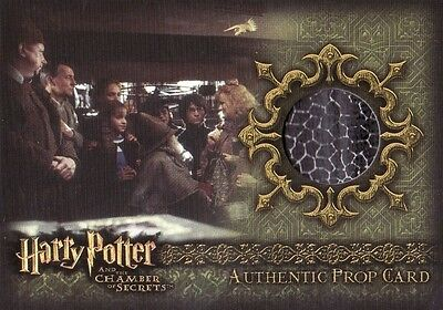 "Harry Potter Chamber of Secrets CoS Lockhart's ""Magical Me"" Book P7 Prop Card"