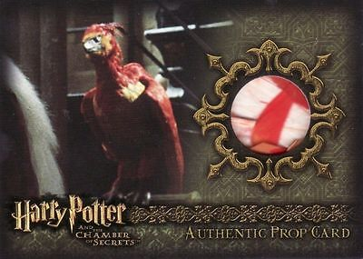 Harry Potter Chamber of Secrets CoS Fawkes Feather P4 Prop Card