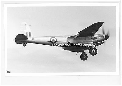RAF De Havilland Mosquto TV981 Vintage Photograph