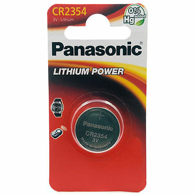1 x Panasonic 2354 3V Lithium Battery CR2354 DL2354