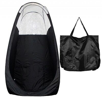LARGE MAXIMIST POPUP BLACK SPRAY TANNING TENT w Bag - FREE SHIPPING