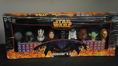 Star Wars PEZ Collector's Set of 9 PEZ Candy Dispensers Limited Edition #170505
