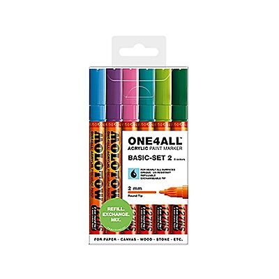 MOLOTOW™ ONE4ALL 127HS Basic-Set 2