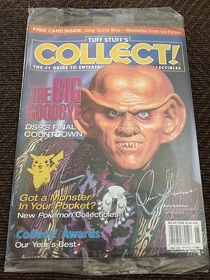 Tuff Stuff's COLLECT! Star Trek Edition May 1999 FACTORY SEALED!!!
