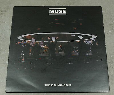 """MUSE - TIME IS RUNNING OUT 7"""" Clear Vinyl MINT CONDITION"""