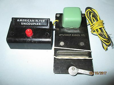 American Flyer #706 Remote Uncoupler with Control Box/Button