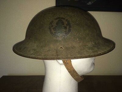WW1 US Helmet Doughboy Painted 89th Division