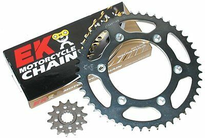 Ducati 696 Monster 2008 2009 2010 2011 520 X-Ring Chain Front Rear Sprocket Kit