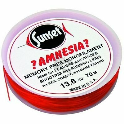 Amnesia Trace and Leader Fishing Line Red *No Memory* - CLOSING DOWN SALE!