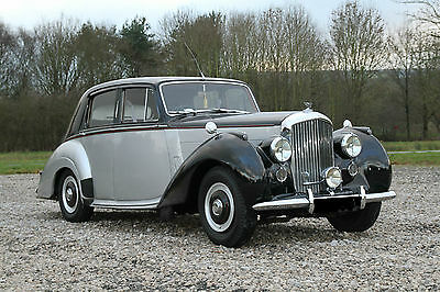 1954 Bentley R-Type Saloon Finished In Stunning Masons Black Over Silver