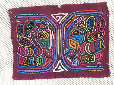 Kuna Tribe Quilt Mola Your Way or Mine? E.587