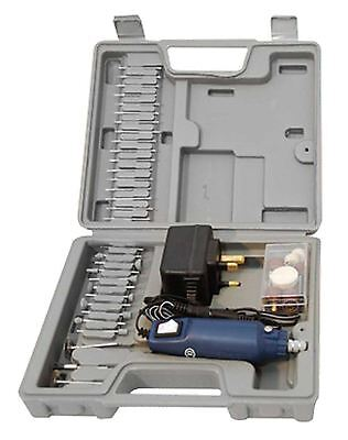 60pc Cordless Dremel Type Mini Rotary Hobby Drill Tool With Case + Accessories