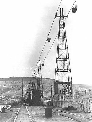 Photo Of East Kent Light Railway Ropeway From Tilmanstone Colliery To Dover Quay