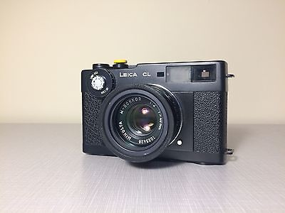 Leica CL & Minolta 40mm f/2 - Film Tested