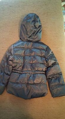 Faded Glory Girls Size XS (4 - 5) Black with pink lining Puffer Jacket