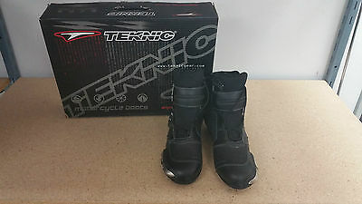 Brand New Teknic | Chicane | Boot | Mens | Black | Size 9