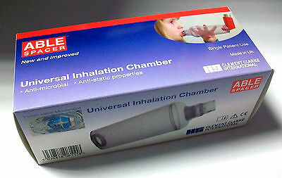 Clement Clarke Able Spacer Chamber for Inhalers