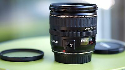 CANON EF 24 - 85mm f 3.5 - 4.5 USM - EXCELLENT CONDITION