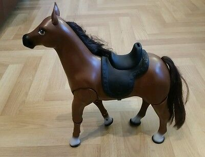 Barbie Brown Walking Horse With Sound Effects And Saddle / 2011 / IN VGC