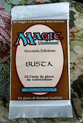 Vintage magic booster pack second edition italian unlimited sigilled