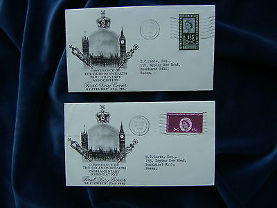 1960 Parliamentary Conference Illustrated First Day Covers