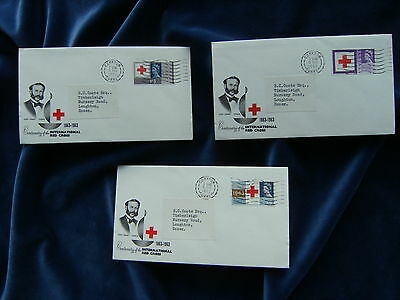1963 QEII Red Cross Illustrated First Day Cover Ordinary