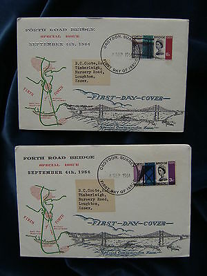 1964 Fourth Road Bridge Illustrated First Day Covers Ordinary