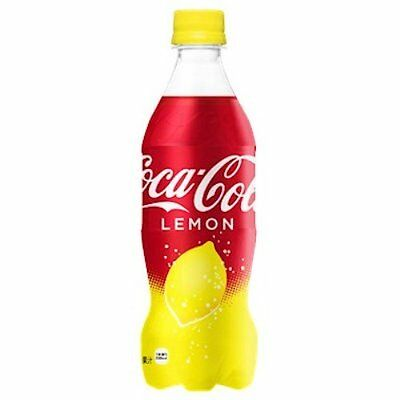 First ship coca cola Lemon Japan Limited Edition 500ml