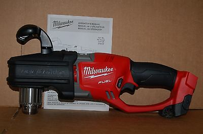 Brand New Milwaukee M18 18v FUEL HOLE HAWG Right Angle Drill  2707-20