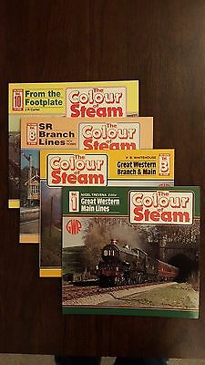 The Colour of Steam Volumes 1,3,8 & 10