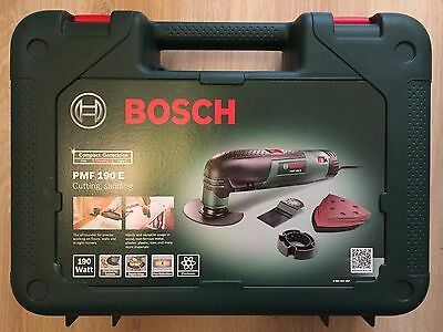 Bosch PMF 190 E Multifunction Tool- Cutting Discs, Saw Blades, Sander Sheets New