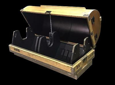 "Hard Wood Shipping Casket / Coffin 62"" X 25"" X 25"" Uv Protected Crate (29 Avail)"