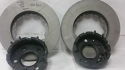 Nascar /racecar /(k).2 wilwood brake rotors and hats and hardware