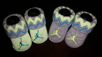 Nike Air Jordan Baby Boys Infant Newborn Booties Jump Man Crib Shoes Socks 0-6M